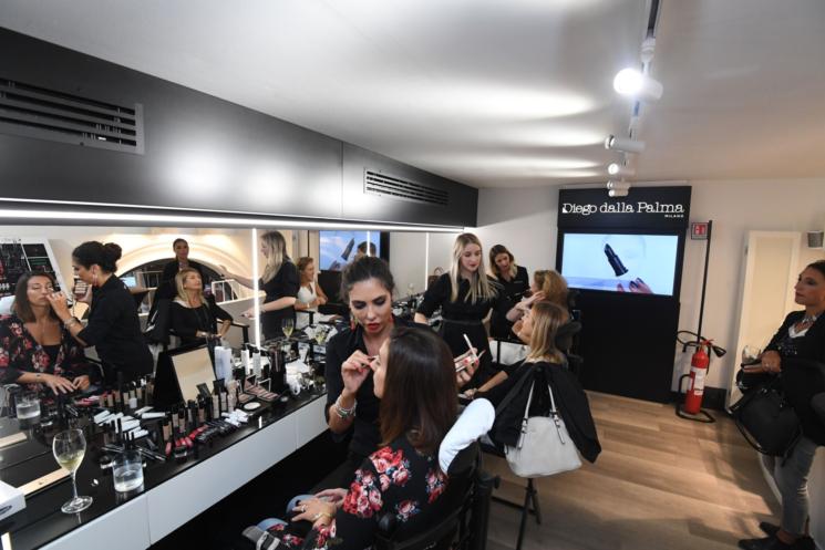 Diego dalla Palma Milano inaugura il nuovo Makeupstudio nel cuore di Bologna