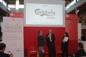 A Carlsberg Italia il Premio Oasis Ambiente 2018