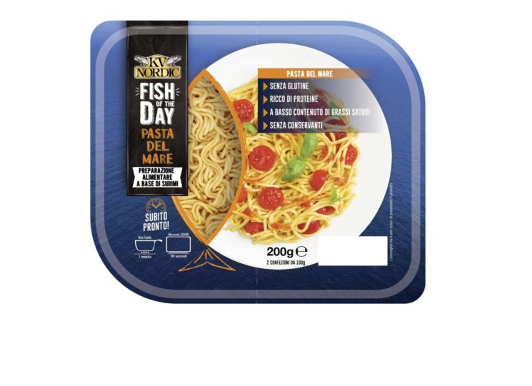 Linea FISH of the DAY di KV NORDIC: da oggi un nuovo PIATTO PRONTO