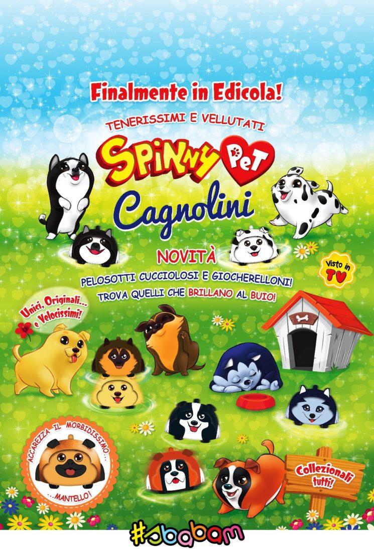 Sbabam: Spinny Pet Cagnolini, la nuova linea di trottole ispirate ai cuccioli