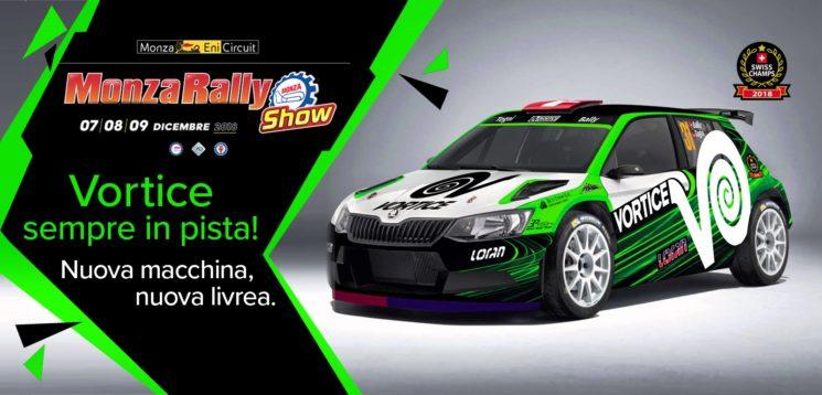 VORTICE in pista al Monza Rally Show 2018