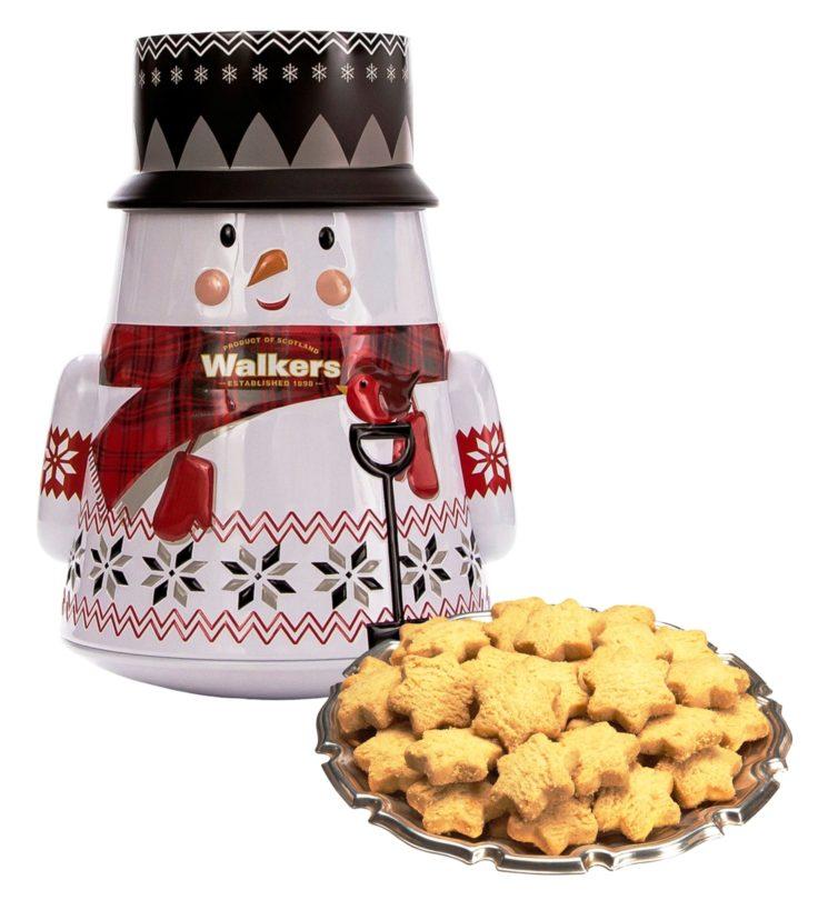 Walkers: gustosi biscotti dalle forme natalizie