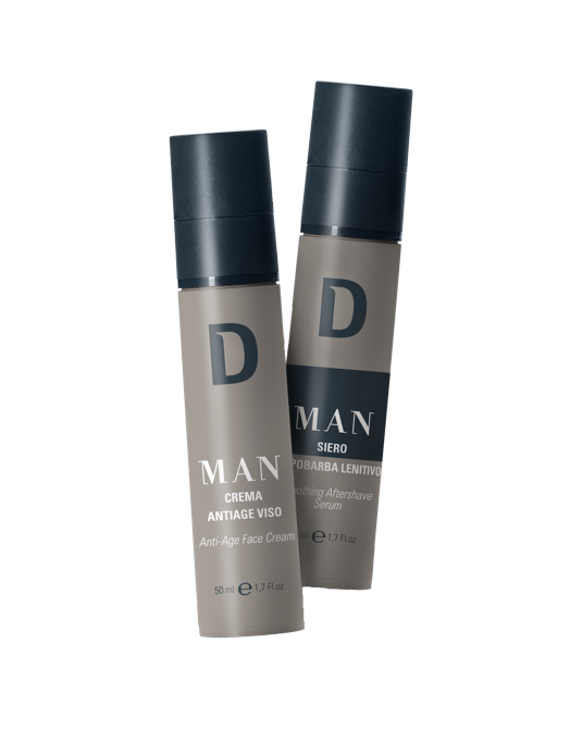 Dermophisiologique: D MAN, linea specifica per la pelle dell'uomo