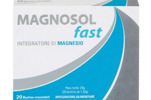 Magnosol Fast, integratore alimentare orosolubile a base di Magnesio