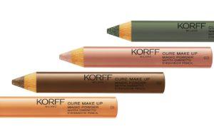Nuova linea occhi di Korff: nuovi mascara e colori più forti e intensi