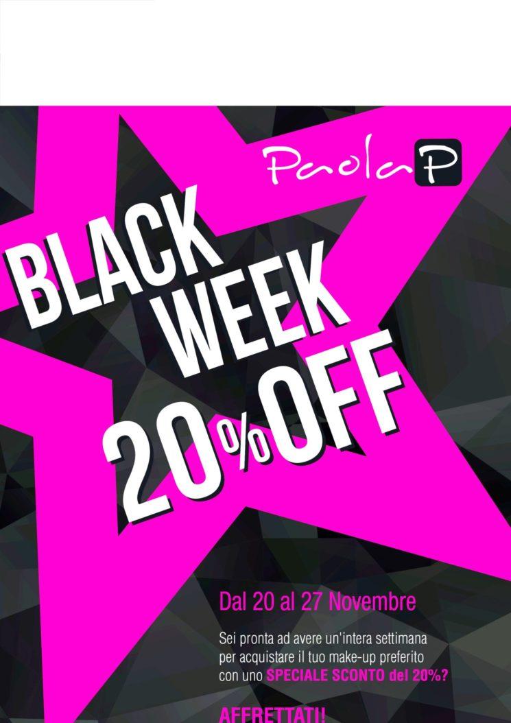 PaolaP: per la Black Week sconti -20% su tantissimi prodotti