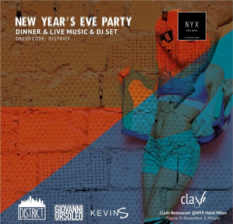 New Year's Eve Party al NYX Hotel Milan