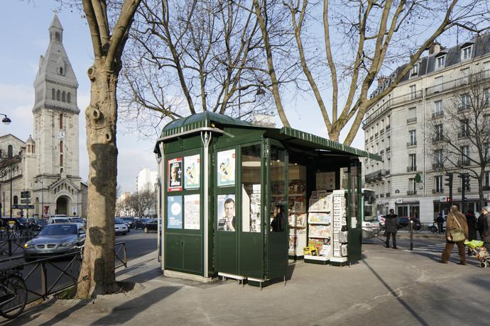 I tessuti Dickson vestono i nuovi chioschi di Parigi