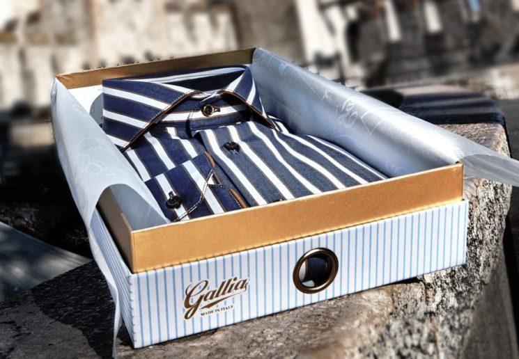 """Pitti Uomo 95: Gallia presenta la collezione """"Slow-Shirt"""""""