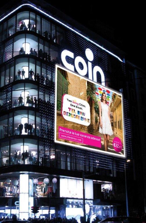 Two Sunny Cities One Break arriva in Coin Cinque Giornate a Milano