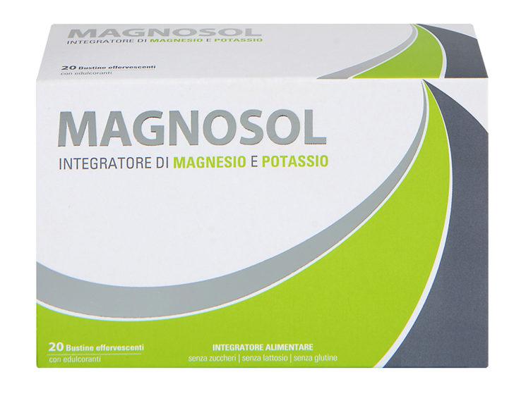 Mylan: Magnosol, integratore alimentare a base di Magnesio e Potassio