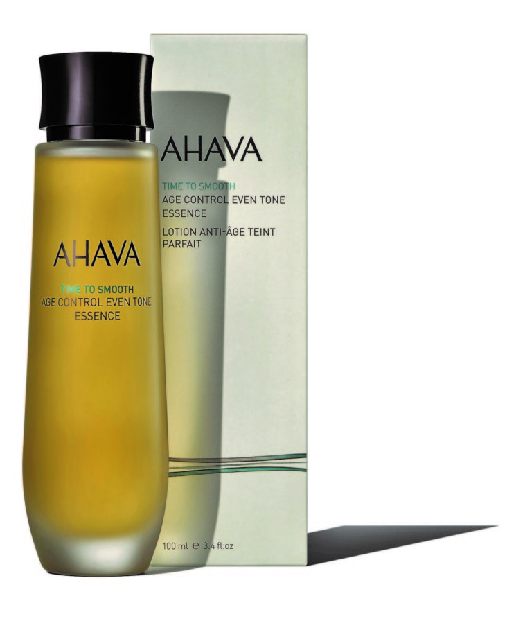 Ahava lancia Time To Smooth Age Control Even Tone Essence