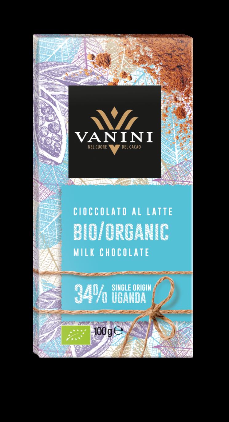 Vanini: nuova linea di tavolette prodotte con cacao biologico monorigine Uganda