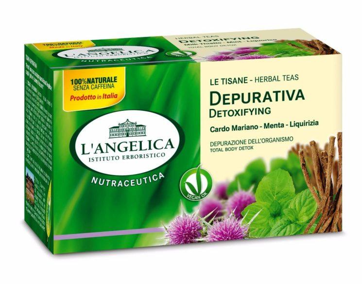 Tisana Depurativa de L'Angelica per facilitare i naturali processi di depurazione