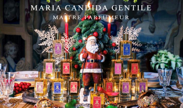 A Natale i profumi unici firmati Maria Candida Gentile Maître Parfumeur