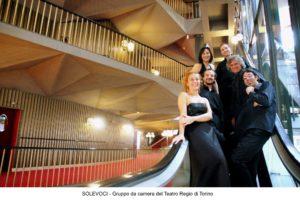 Al Torino Outlet Village il gruppo vocale SoleVoci del Teatro Regio di Torino