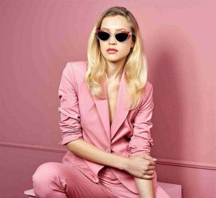 Été Lunettes: colorblock bianco e rosa per la nuova campagna