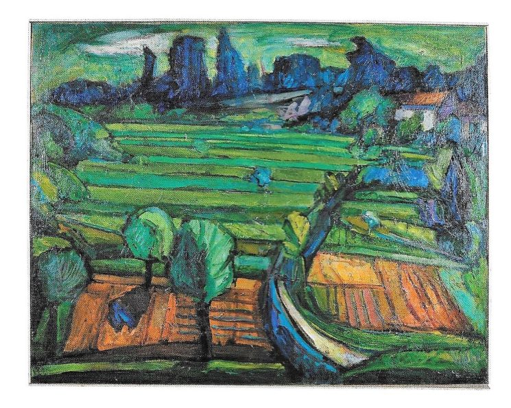 Il vitalismo di forme e colori nell'opera di Giuseppe Colombo
