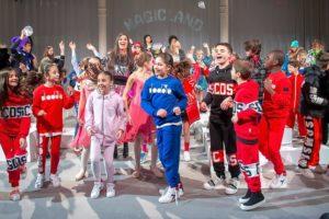 Con The Magicland festeggiato il 20°anniversario di Daddato Spa durante Pitti Bimbo 88