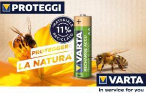 Proteggere le api con le batterie ricaricabili VARTA