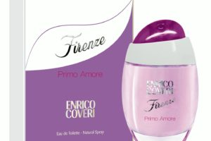 Enrico Coveri Firenze Primo Amore, la fragranza che parla d'amore