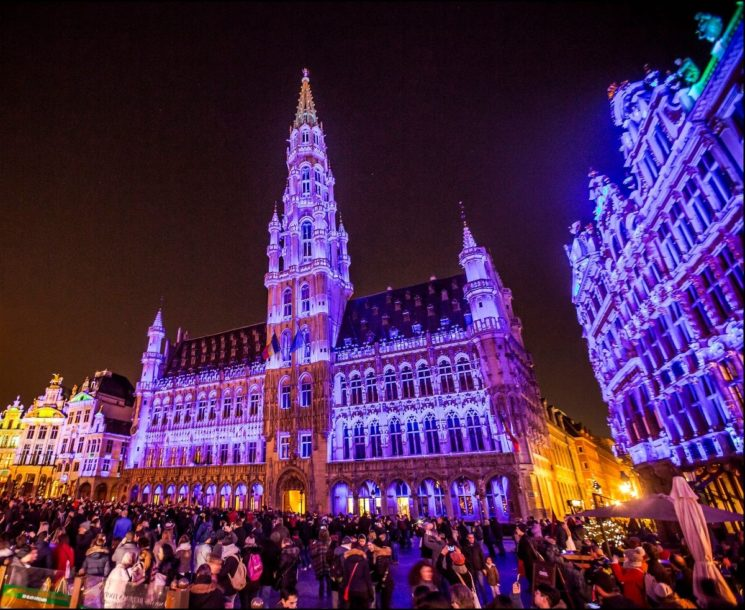 Bright Brussels: a Bruxelles a San Valentino il 4° Festival of Light