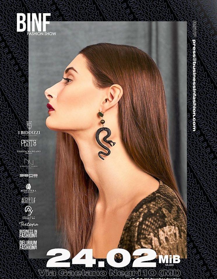 Torna a Milano il BINF Fashion Show