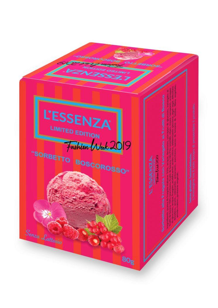 Per la Fashion Week L'Essenza Limited Edition, il gelato gourmand per intenditori