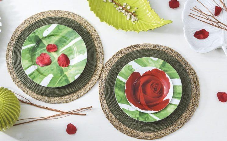 "La tavola di Villa Altachiara per San Valentino. ""Una rosa, è una rosa, è una rosa"""