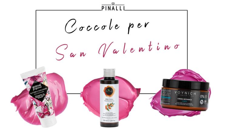 Pinalli: dolce coccole per San Valentino con i prodotti in esclusiva