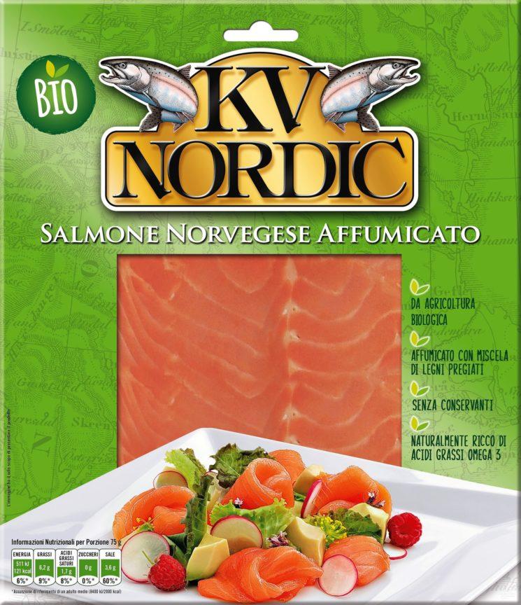 KV NORDIC: il Salmone Norvegese Affumicato Bio che piace a tutti
