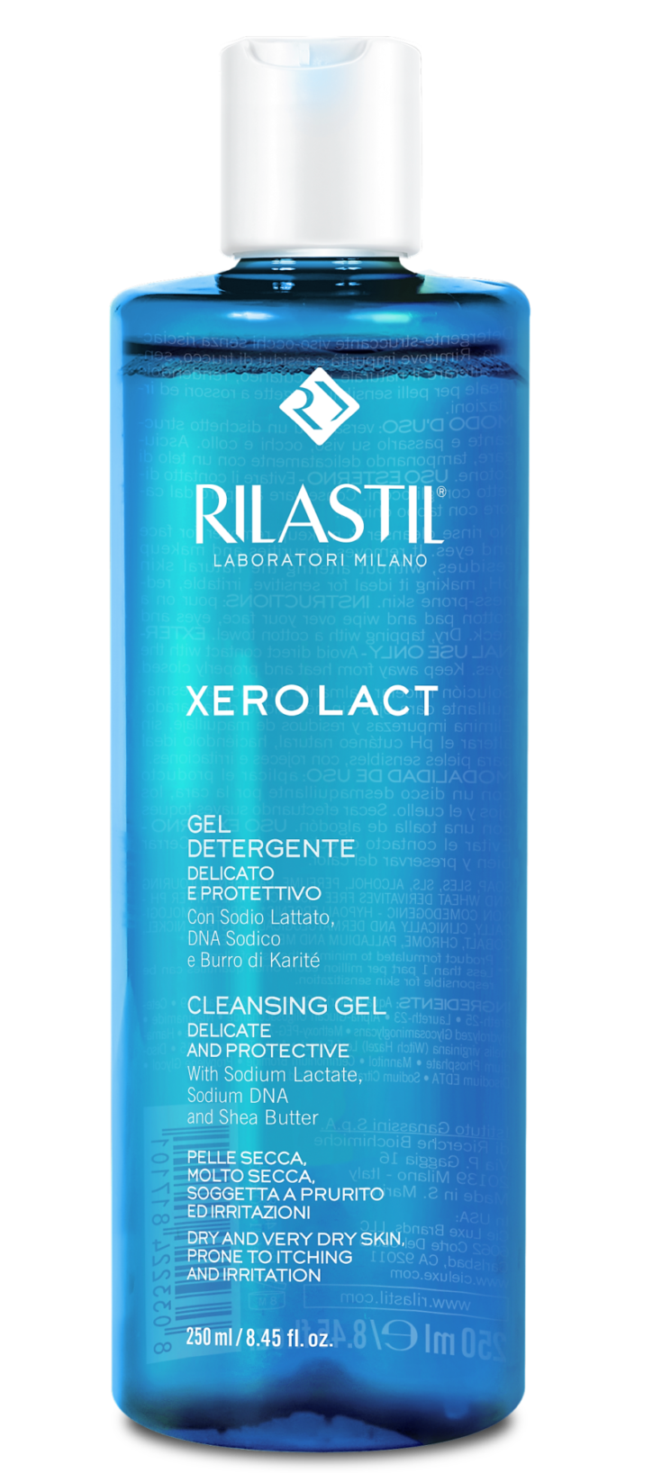Novità: Rilastil Xerolact Gel Detergente Delicato e Protettivo