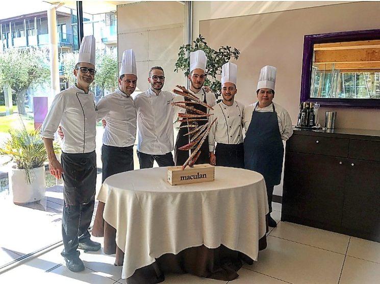 Aqualux: allo Chef Simone Gottardello il Premio Maculan 2019