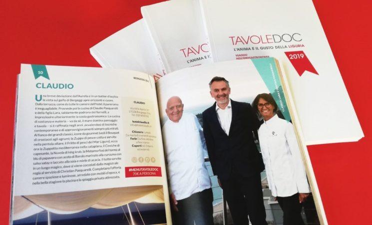 Guida TavoleDoc, l'anima e il gusto della Liguria 2019