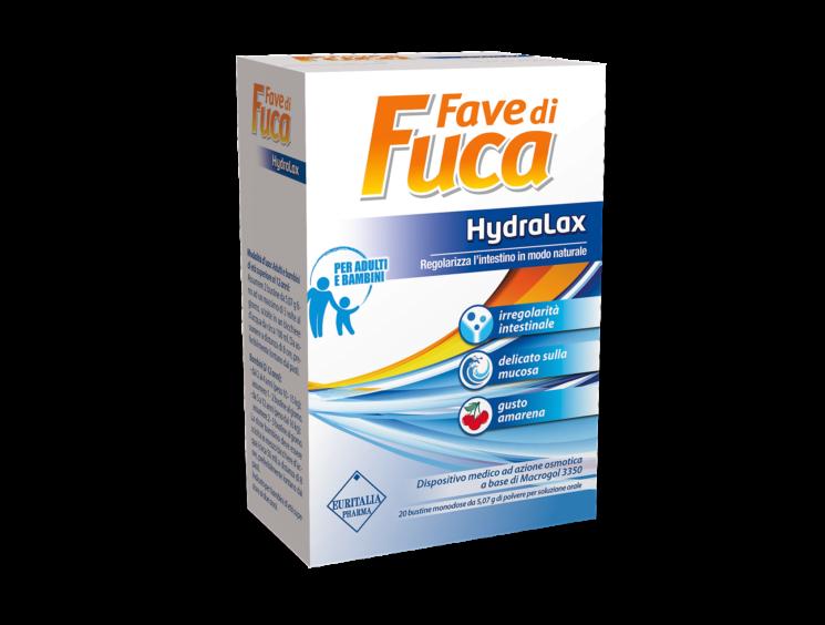 Fave di Fuca Hydralax per un transito intestinale regolare e senza gonfiori