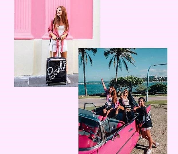 Barbie X American Tourister