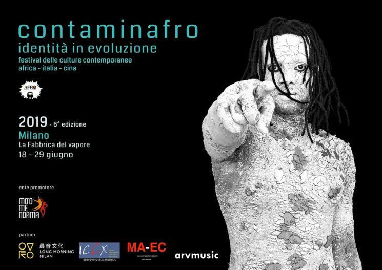 """""""Contaminafro, identità in evoluzione"""" a Milano dal 18 al 29 giugno 2019"""