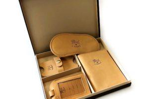 Il Bisonte: raffinato ed elegante il nuovo Travel Kit