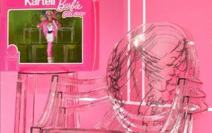 """Barbie presente nella mostra celebrativa """"The Art Side of Kartell"""" a Palazzo Reale Milano"""