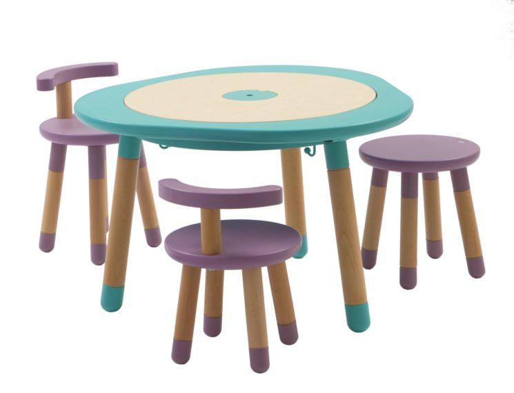 A Mukako il Red Dot Award con MUtable, il tavolo multigioco che cresce con il bambino