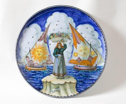 """""""Con il fuoco e con la terra. L'Arte della maiolica ad Ascoli Piceno dal XV secolo a oggi"""""""