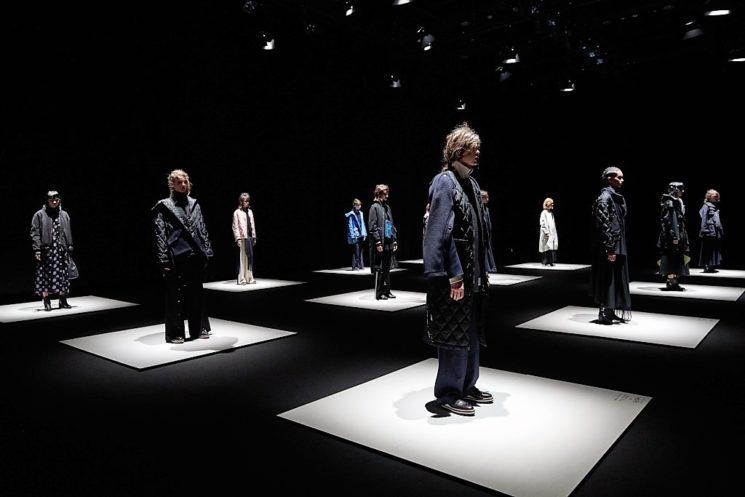Saldarini Cashmere Flakes by Ujoh alla Amazon Fashion Week Tokyo