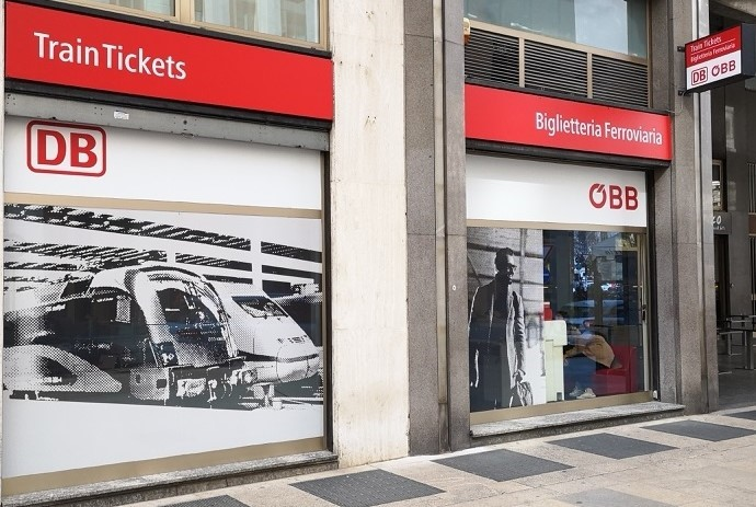 DB-ÖBB: nuova apertura biglietteria ferroviaria a Milano