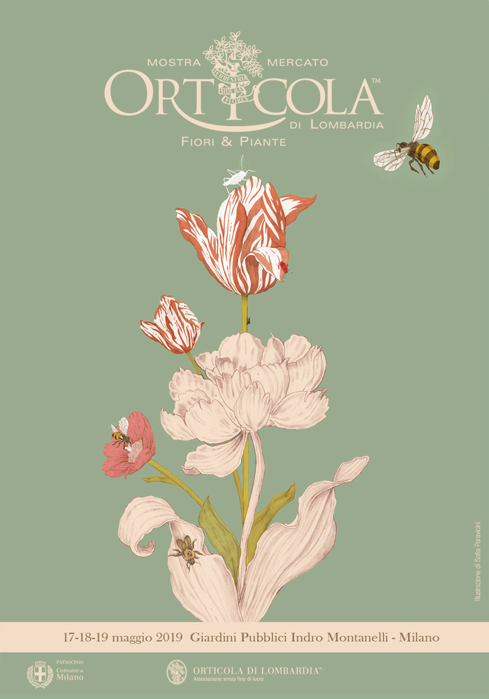 Orticola XXIV edizione a Milano dal 17 al 19 maggio 2019