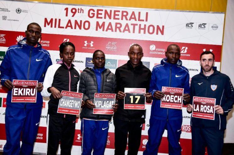 XIX Generali Milano Marathon 2019: svelata la rosa dei top runner in gara