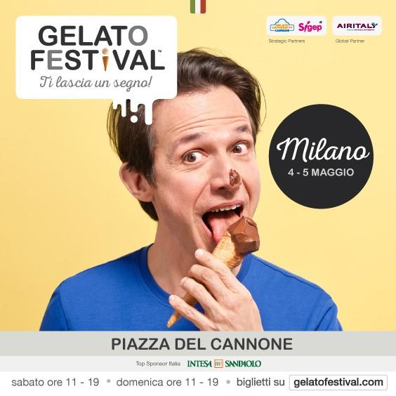 Gelato Festival 2019 al via a Milano sabato 4 e domenica 5 maggio