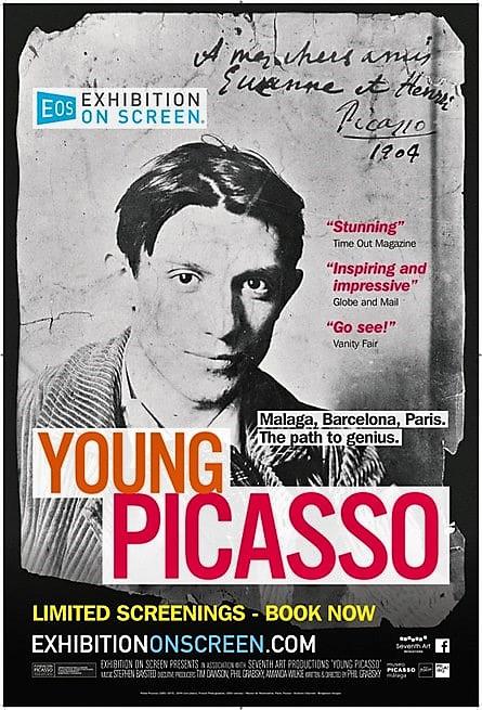 """""""Il giovane Picasso"""".  La grande arte al cinema"""