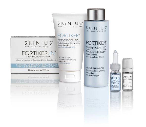 Fortiker di SKINIUS, nuova linea per il benessere dei capelli