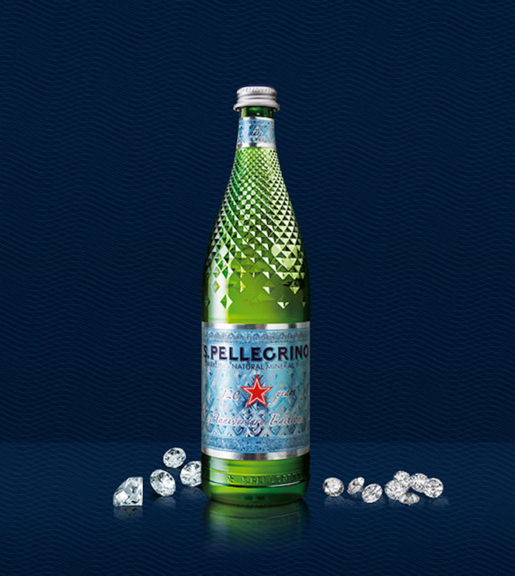 S.Pellegrino Diamond Week per celebrare il 120° anniversario di S.Pellegrino