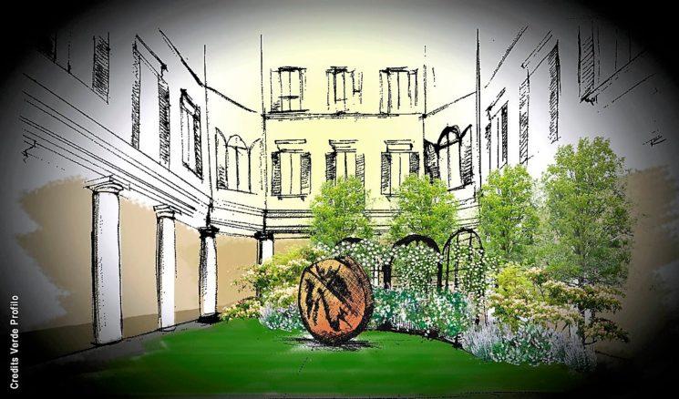 """FuoriOrticola: apre al pubblico il Chiostro delle Gallerie d'Italia trasformato in """"The Secret Garden"""""""